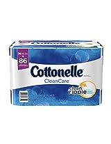 Cottonelle CleanCare Family Roll Toilet Paper Bath Tissue, 36 Rolls