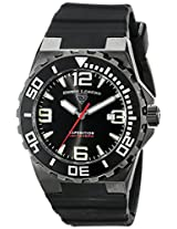 Swiss Legend Men's 10008-BB-01 Expedition Analog Display Swiss Quartz Black Watch