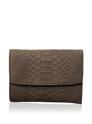 Treesje Women's Snap Wallet (Carbon Anaconda)