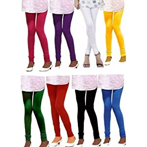 Super 8 Vibrant & Colourful Collection Of Leggings
