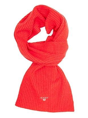 Gant Bufanda Lisa (Rojo)