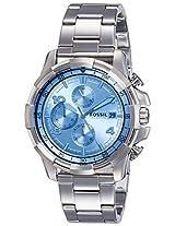 Fossil End-of-season Dean Analog Blue Dial Men's Watch - FS5155