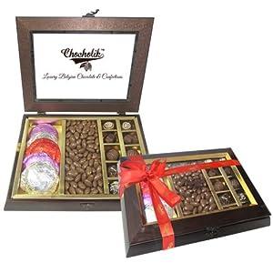 Unique Gift with Milk Nutties & Belgium Chocolate Rocks - Chocholik Belgium Gifts