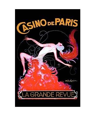 Casino de Paris Giclée Canvas Print