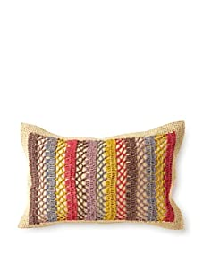 "Mar Y Sol Marie 18"" x 18"" Kidney Pillow (Multi)"