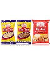 Tip-Top Full Cashew (100 gms), Kissmiss (100 gms), Sabudana (500 gms), Combo Pack of 3