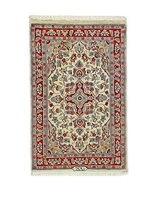 Eden Carpets Teppich Kashmirian rot/lehmbraun 95 x 62 cm