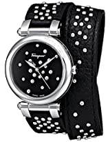 Salvatore Ferragamo Women's FI2100013 IDILLIO Analog Display Quartz Black Watch