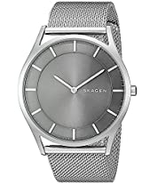 Skagen End-of-season Holst Analog Black Dial Men's Watch - SKW6239