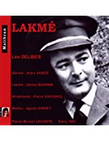 Lakme (Paris 1961)