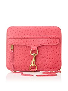 Rebecca Minkoff Women's Mac Embossed iPad Case, Fuchsia
