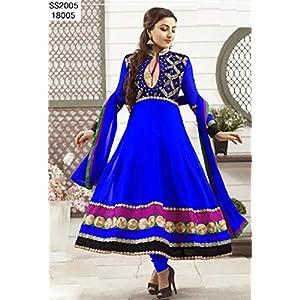 Khantil Blue Designer Anarkali Suit SS2089-2901