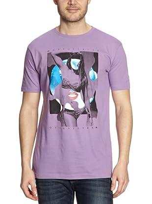 Quiksilver Camiseta Basic (Violeta)