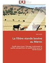 La Filiere Viande Bovine Au Maroc (Omn.Univ.Europ.)
