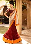 Pretty and Charming Net Lehenga Style Saree with Blouse - TBSANKK6002B