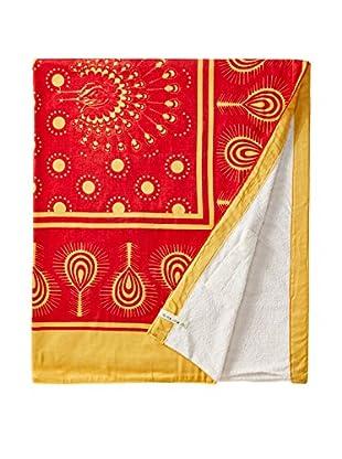 Nomadic Thread Swahili Towel, Orange/Yellow