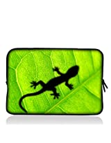 "Green Gecko 6"" 7"" 7.85"" 8"" inch Touch Screen Tablet Case Sleeve Pouch Bag for Apple iPad mini/Samsung GALAXY Tab 4 7inch P3100 P6200/Acer Iconia A100/Google Nexus 7/Noble NOOK Color/HP Stream 7/LG Pad/Android Kid Tablet/ASUS MeMO Pad 7/HD 7/ProntoTec A8"