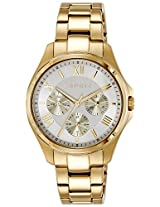 Esprit ES Agathe Analog Gold Dial Women's Watch - ES108442006