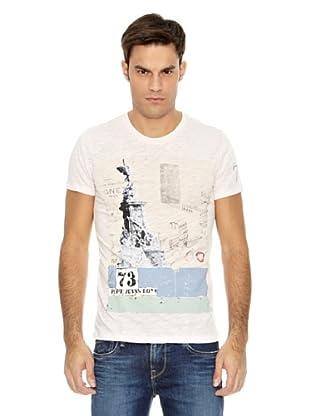 Pepe Jeans London Camiseta Powell (Rosa)
