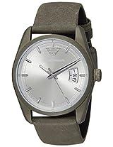 Emporio Armani New Tazio Analog Silver Dial Men's Watch - AR6079