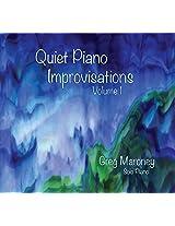 Quiet Piano Improvisations Volume 1