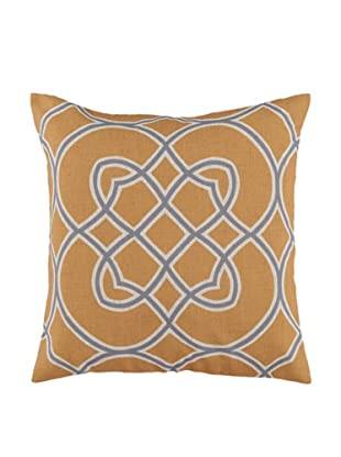 Surya Geometric Throw Pillow (Ceylon Yellow)