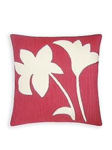 Judy Ross Textiles Duet Pillow (Orchid/Cream)