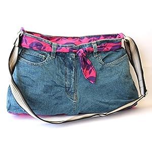 Karaashilp Apples n Peaches Hipster Denim Bag