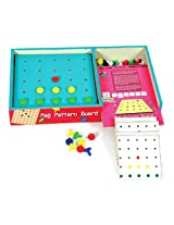 Skillofun Travel Toy - Peg Pattern Board, Multi Color