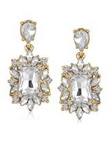 Meenaz Traditional Earrings Fancy Party Wear Kundan Moti Pearl Daimond Earrings For Women - TR163