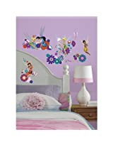 RoomMates Best Fairy Friends Wall Decals (Multi Color)