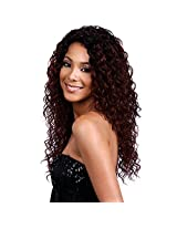 Bobbi Boss Maxxim Human Hair Blend Wig Mb1000 Lynn (1 Jet Black)
