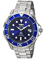 Invicta Pro-Diver Analog Blue Dial Men's Watch - 3045