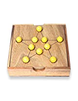 MindSapling Pythagore Star Wooden Puzzle