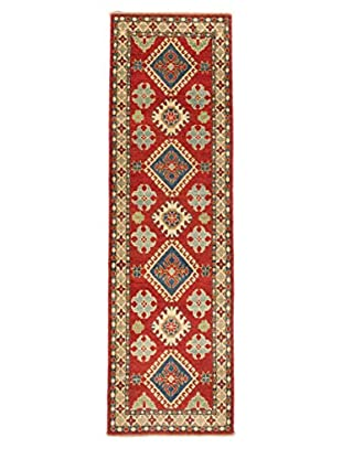 Hand-Knotted Finest Gazni Rug, Red, 2' 8