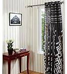 @home Bricks Polycotton Door Curtain - 44