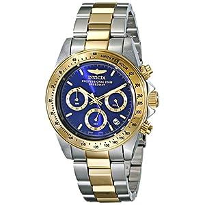 Invicta Speedway Analog Blue Dial Men's Watch - 3644