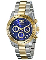 Invicta Speedway Analog Blue Dial Men's Watch - 3644