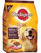 Pedigree Meat & Rice for Adult Dogs - 1.2kg