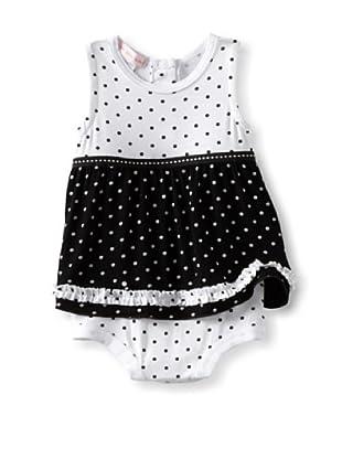 Mish Mish Baby Bodysuit Dress (Dots)