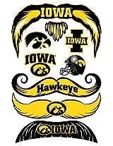 StacheTATS Iowa Temporary Mustache Tattoos