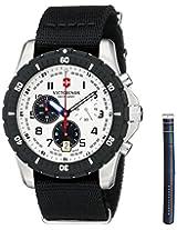 Victorinox Men's 241680.1 Analog Display Swiss Quartz Black Watch
