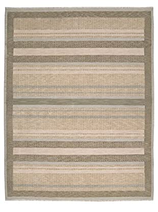 Calvin Klein Crackle Stripe Rug