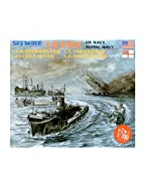 Skywave 1/700 WWII US and Royal Navy Landing Support Craft Model Kit