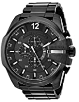 Diesel luminescent hands Analog Black Dial Men's Watch - DZ4283