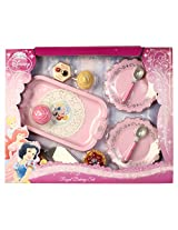 The Walt Disney Disney Princess Royal Cup Cake Tea Set, Pink (16 Pieces)