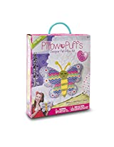 Darice PUF-118 Pillow Kits, Big, Butterfly Design