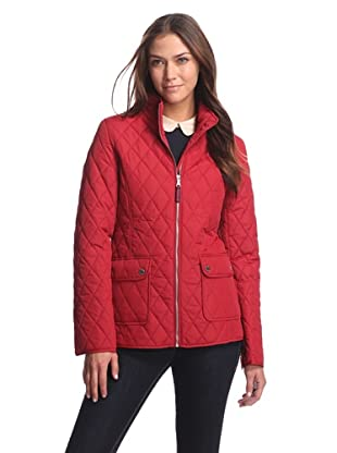Tommy Hilfiger Women's Quilted Jacket (Red)