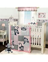 Bedtime Originals 3 Piece Crib Bedding Set, Pinkie
