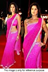 Bollywood Replica Katrina Faux Georgette Saree In Pink Colour NC64